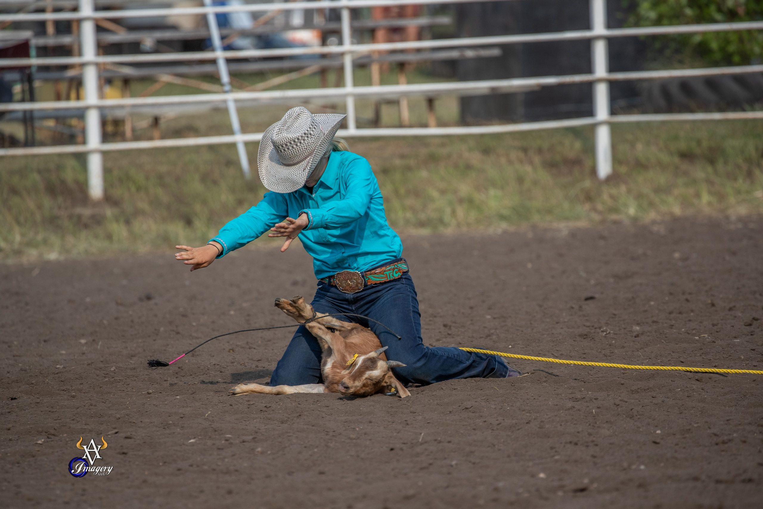 Jr Girls Goat Tying Topeka 2