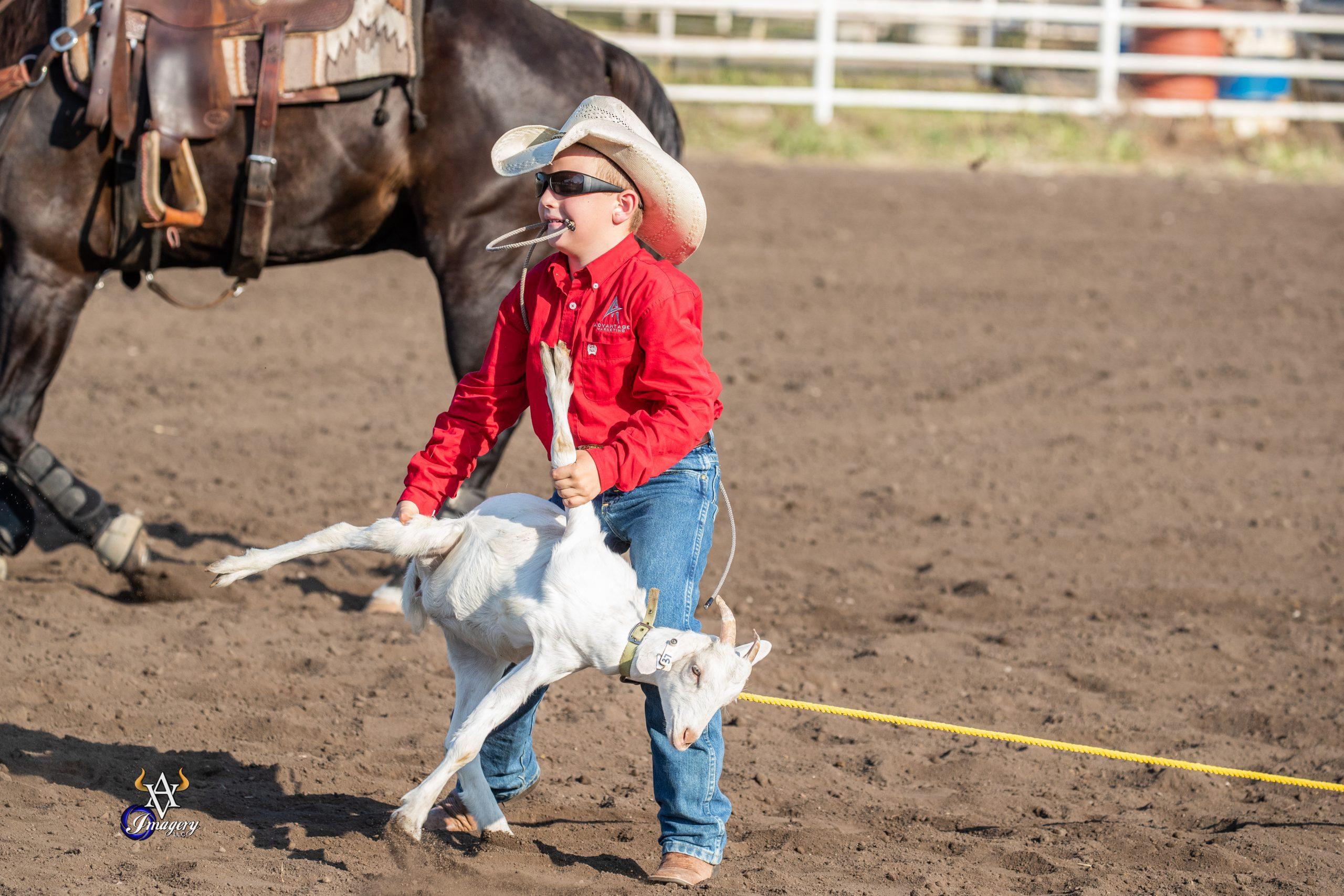 Pee Wee Boys Goat Tying Topeka 1